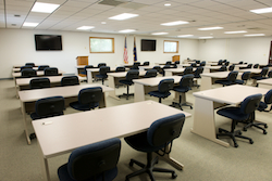 Contact info | MCM Consulting Group | 911 Conference Room Project Photo