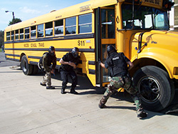 Training and Exercise Services | MCM Consulting Group | Bus Interdiction Exercise Photo